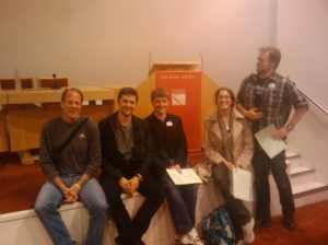 The gang at the Royal Society